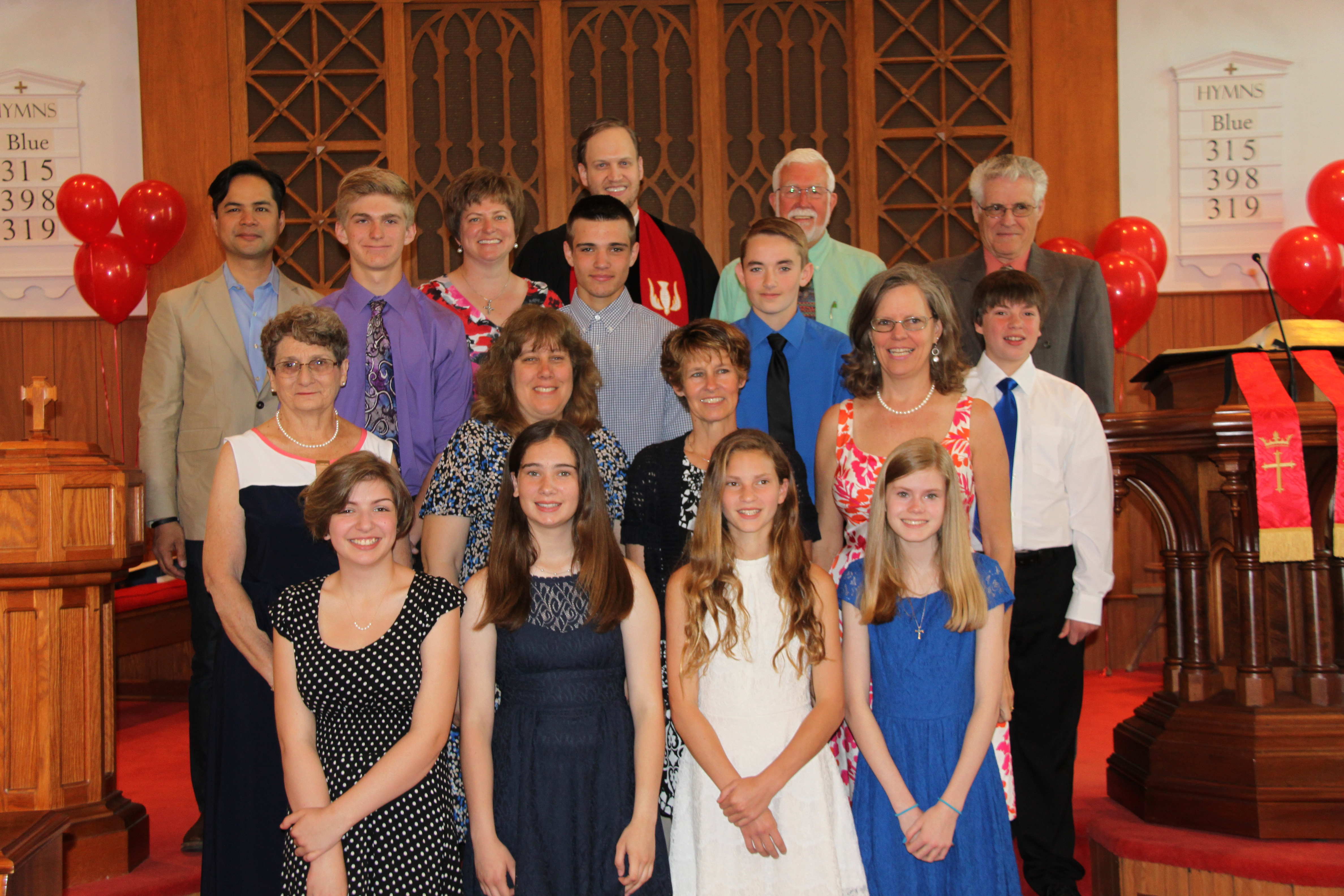 Confirmation 2015WithMentors