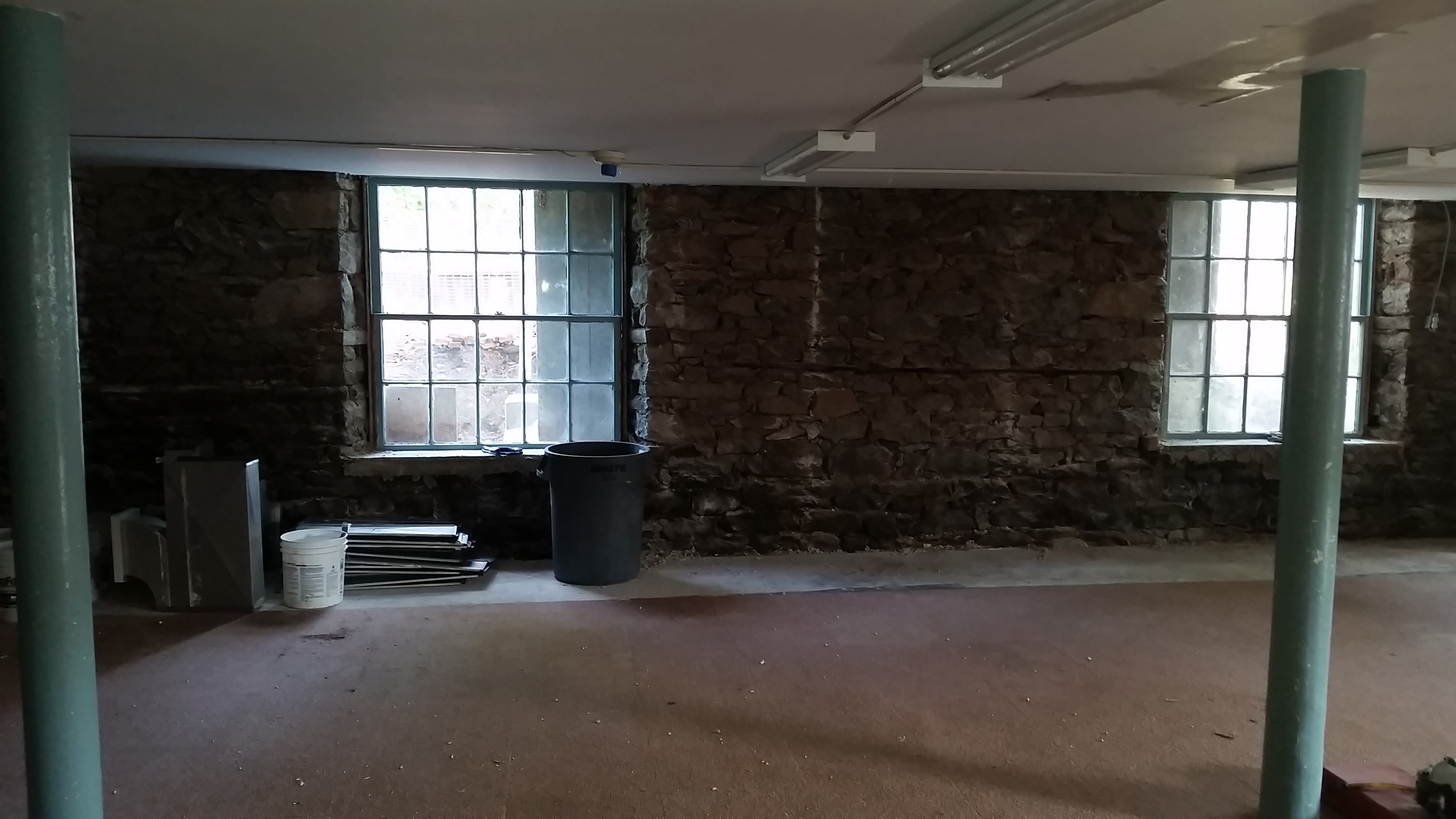 August 10_2018_Interior_stone_foundation_revealed